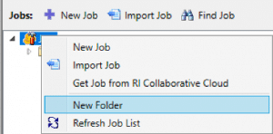 New folder in Construct