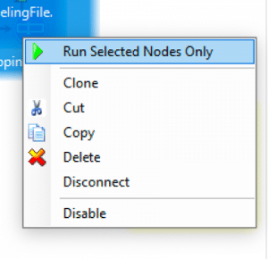 Run selected nodes only in Construct