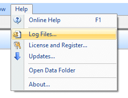 Log files in Construct