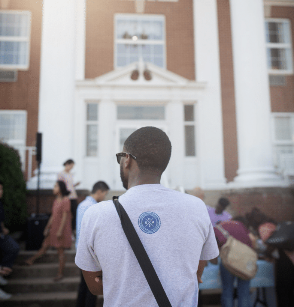 A student at Southern Adventist University