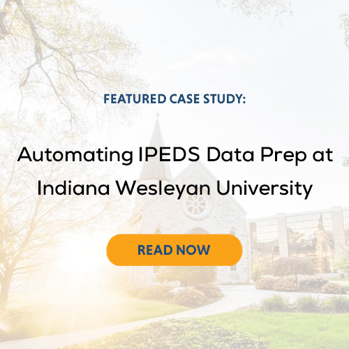 Featured Case Study: Automating IPEDS Data Prep at IWU