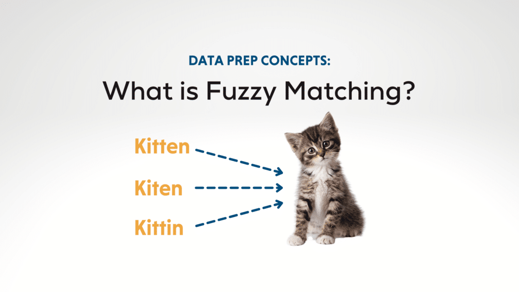 What is Fuzzy Matching